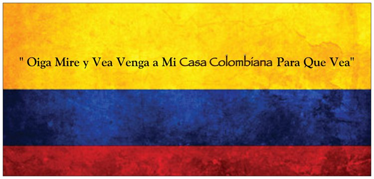 Casa Colombiana Thursday